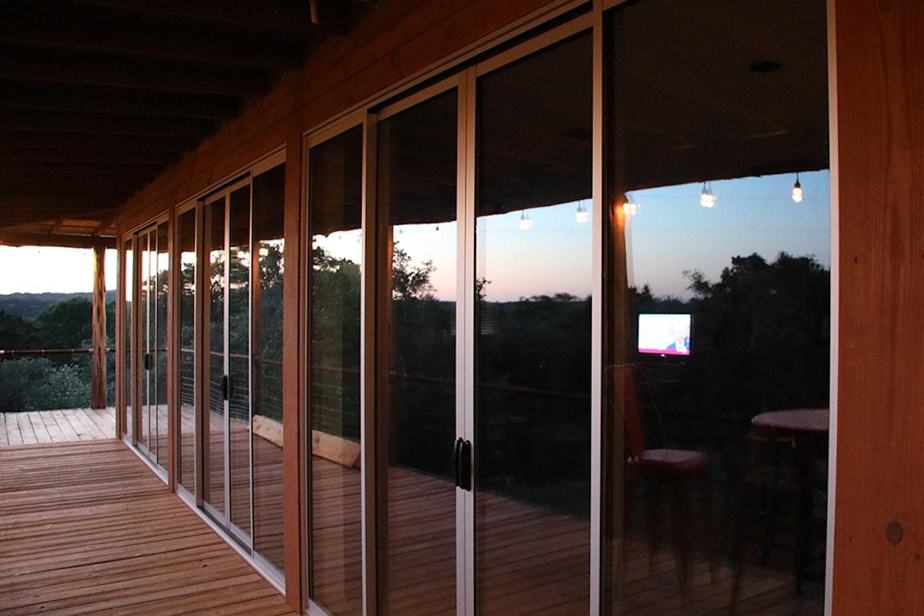slim profile patio door