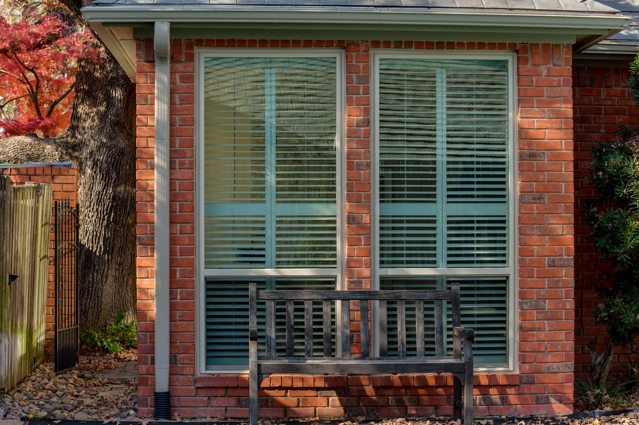 two-single-hung-windows