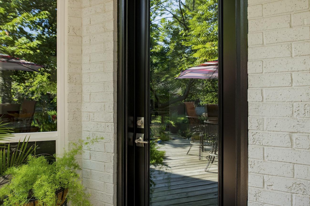 black-provia-door-with-patio-view
